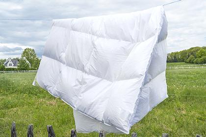 Daunendecke Winter 4x6 Rasterdecke, auch für Übergangszeit geeignet, superweich, Klimaausgleich