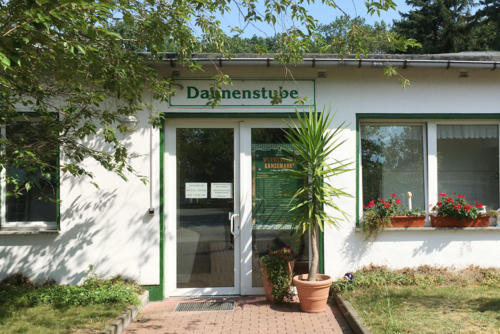 Daunenstube Eingangsbereich Wermsdorf