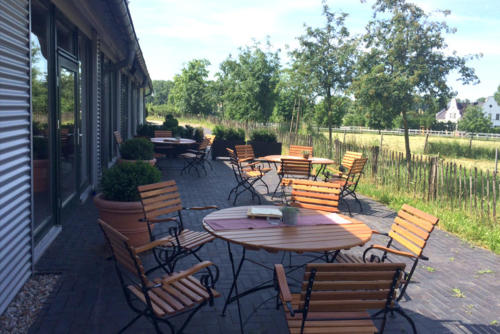 Terrasse Imbiss Café Landwirtschaft