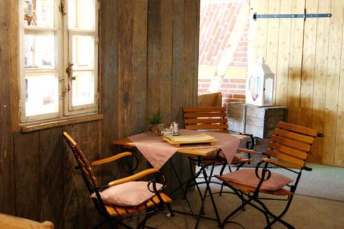 Sitzplatz im Cafe