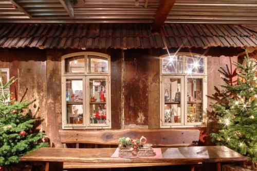 gemütliche Gaststube zur Weihnachtszeit