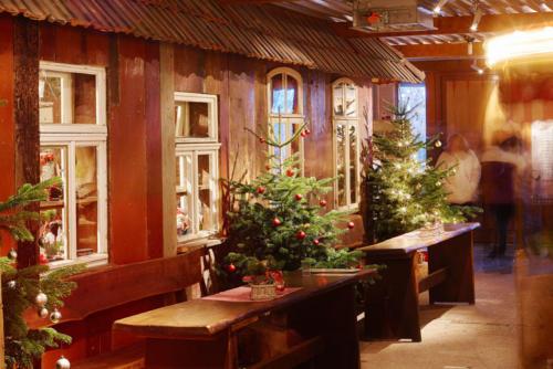 Tannenbaum Weihnachtsbaum Holztisch