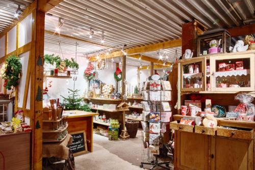 Dekoration für Weihnachten Verkaufsstand